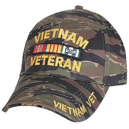 Amazon.com  Buy Caps and Hats Vietnam Veteran Baseball Cap Tiger ... 7c2fa216470
