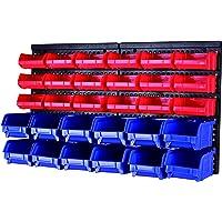 MaxWorks 80694 - Soporte de pared para pernos, pernos, tornillos, clavos, abalorio, botones, otras piezas pequeñas (30 unidades)