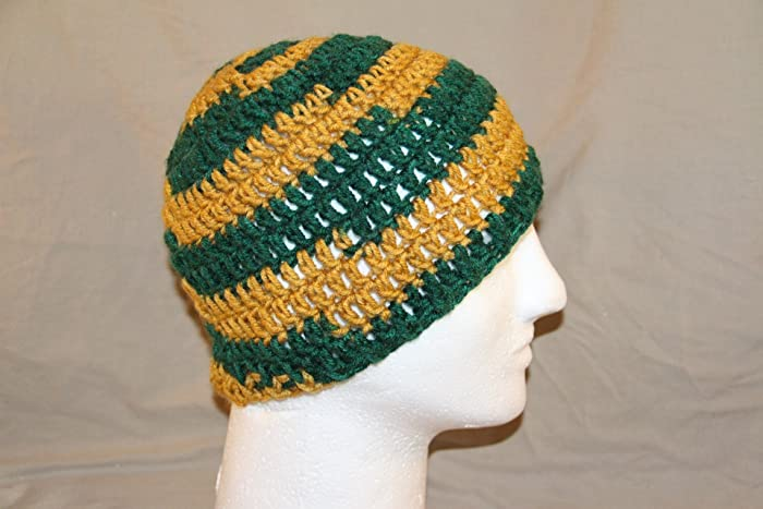 Amazon.com: Hand Crochet head hugger skull cap chemo cap - bad hair ...