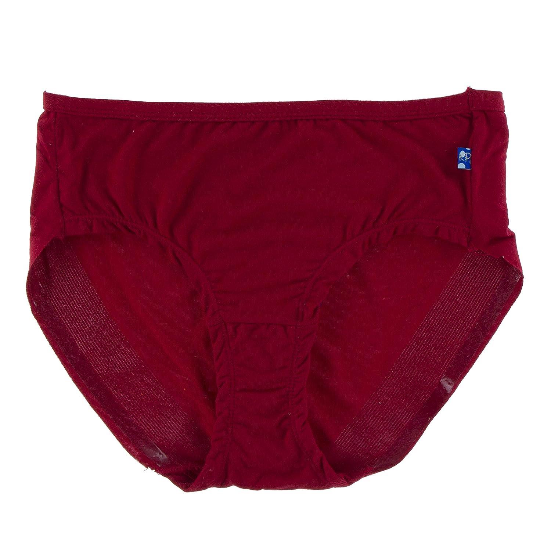 1a8a17afacfa Amazon.com: Kickee Pants Women's Solid Underwear, Candy Apple, Medium:  Clothing