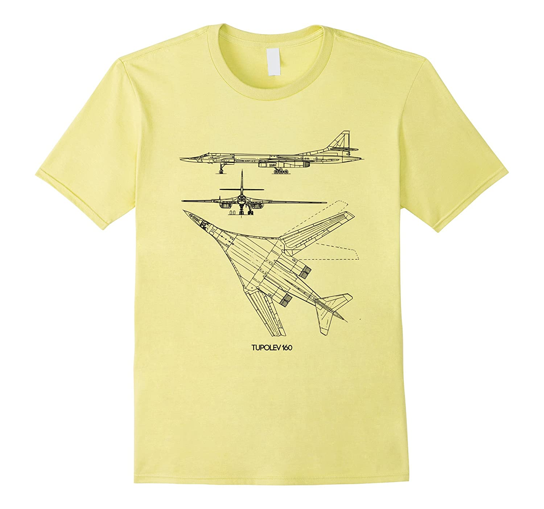 Military Aircraft Tupolev Tu-160 Pilot Gifts T Shirt USAF