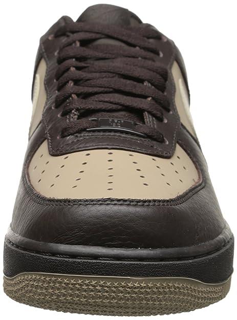 new styles fe99a 5ded4 Amazon.com   Nike Air Force 1 07 Velvet Brown Birch-Khaki 315122-209 (8.5  M)   Fashion Sneakers
