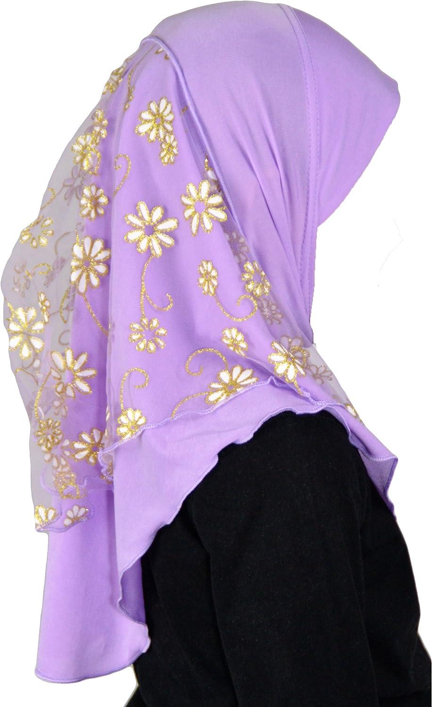 Malika Kids Children Hijab flower