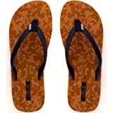 eNaR Women's Brown Color Flip-Flops and House Slippers