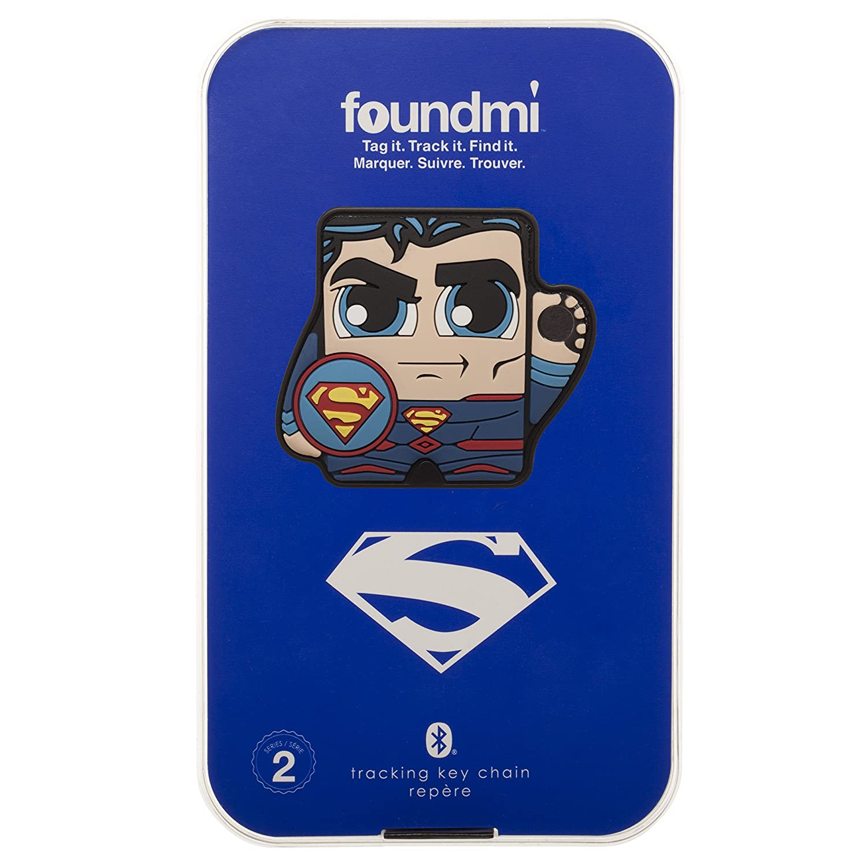 Batman Bioworld Children/'s Apparel FM5933DCO00PP00 DC Comics foundmi 2.0 Personal Bluetooth Tracker