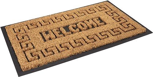 Envelor EN-RMC-11502 Meandros Rubber Coir Mat Doormat