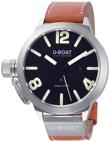 U-Boat 5570 - Reloj para hombres color marrón