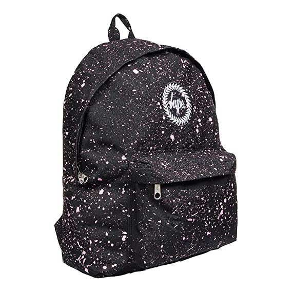 5503f3f431 Hype Black Pink Speckle Backpack  Amazon.co.uk  Clothing