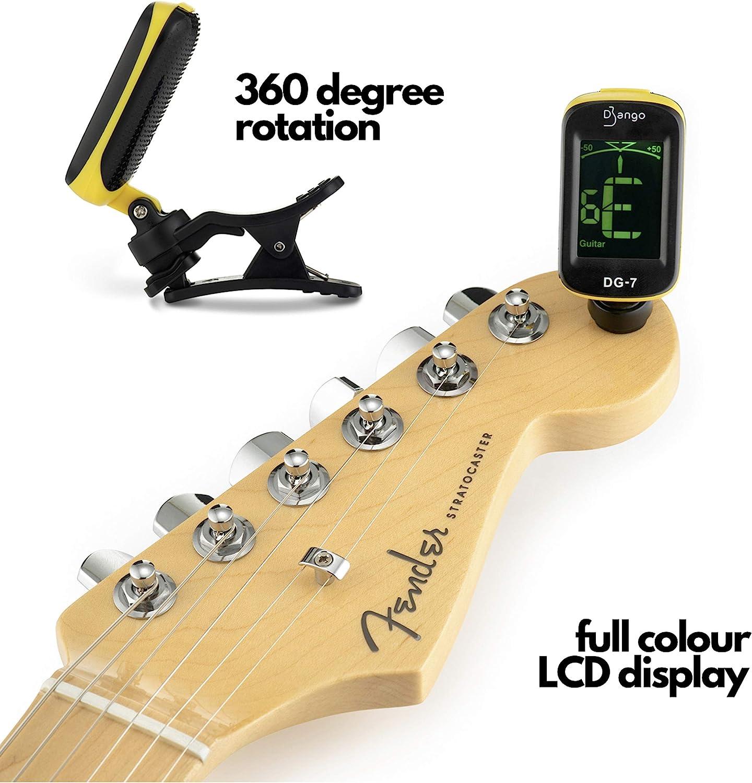 Afinador Django de Pick Geek | Para Guitarra Acústica, Bajo ...