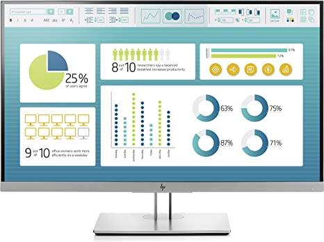 HP EliteDisplay E273 - Monitor de 27 pulgadas ajustable en altura ...