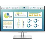 "HP EliteDisplay E273 27"" Full HD IPS Noir, Argent écran Plat de PC - Écrans Plats de PC (68,6 cm (27""), 1920 x 1080 Pixels, LED, 5 ms, 250 CD/m², Noir, Argent)"