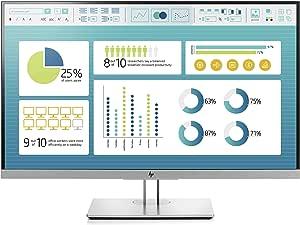 HP EliteDisplay E273 27-Inch Screen LED-Lit Monitor Black/Silver (1FH50A8#ABA)