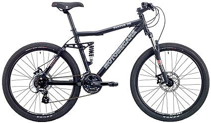 80302011d8e Motobecane 2018 Fantom DS Express Full Shimano 24 Speed Dual Suspension  Mountain Bike with Disc Brakes