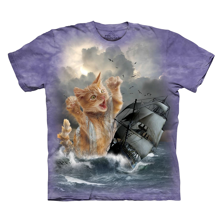 Amazon The Mountain Krakitten T Shirt Clothing