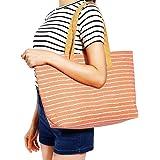 Sacs a bandouliere Cabas Cartable Pochette Rayure Pois Plage course shopping Ete Femme