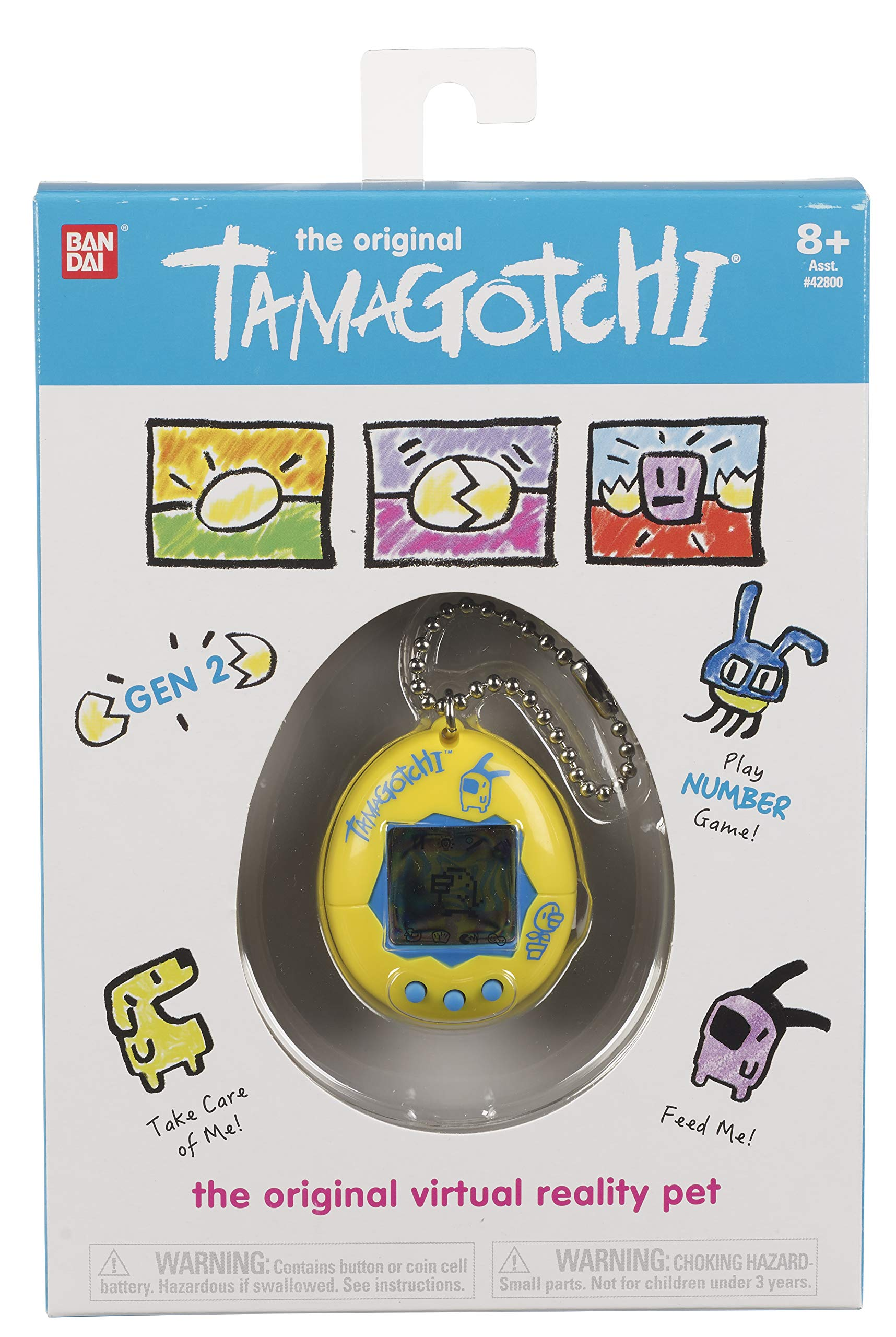 Tamagotchi Electronic Game, Yellow/Blue by Tamagotchi (Image #2)