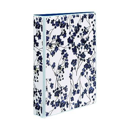 amazon com avery 5 1 2 x 8 1 2 inches mini durable style binder