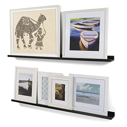 Amazoncom Wallniture Modern Floating Wall Ledge Shelf For Pictures