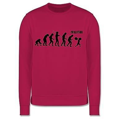 Evolution Kind - Gewichtheber Evolution - Kinder Pullover ...