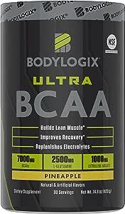 Bodylogix Ultra BCAA Powder Pineapple 14.8 Ounce