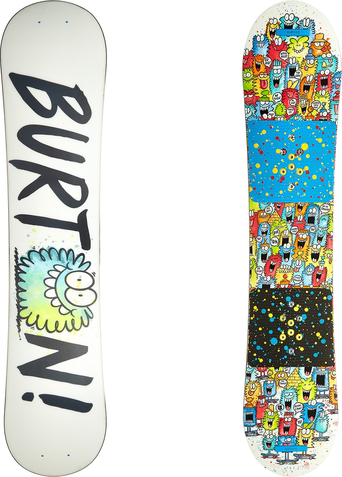 Burton Kids Unisex Chopper '16 120 Multi 120 by Burton