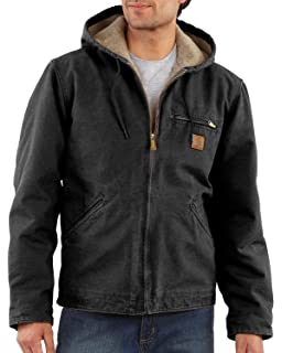 : Carhartt Men's Quilted Flannel Lined Duck Active