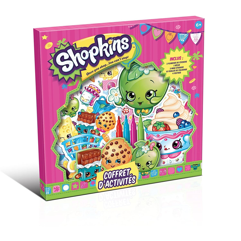 Shopkins Canal Toys Coffret de Actividades: Amazon.es ...