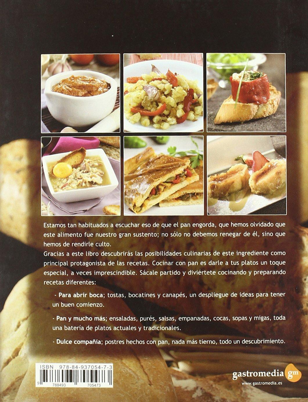 Cocinar con pan - 35 recetas faciles para amantes del pan: Amazon.es: Aa.Vv.: Libros