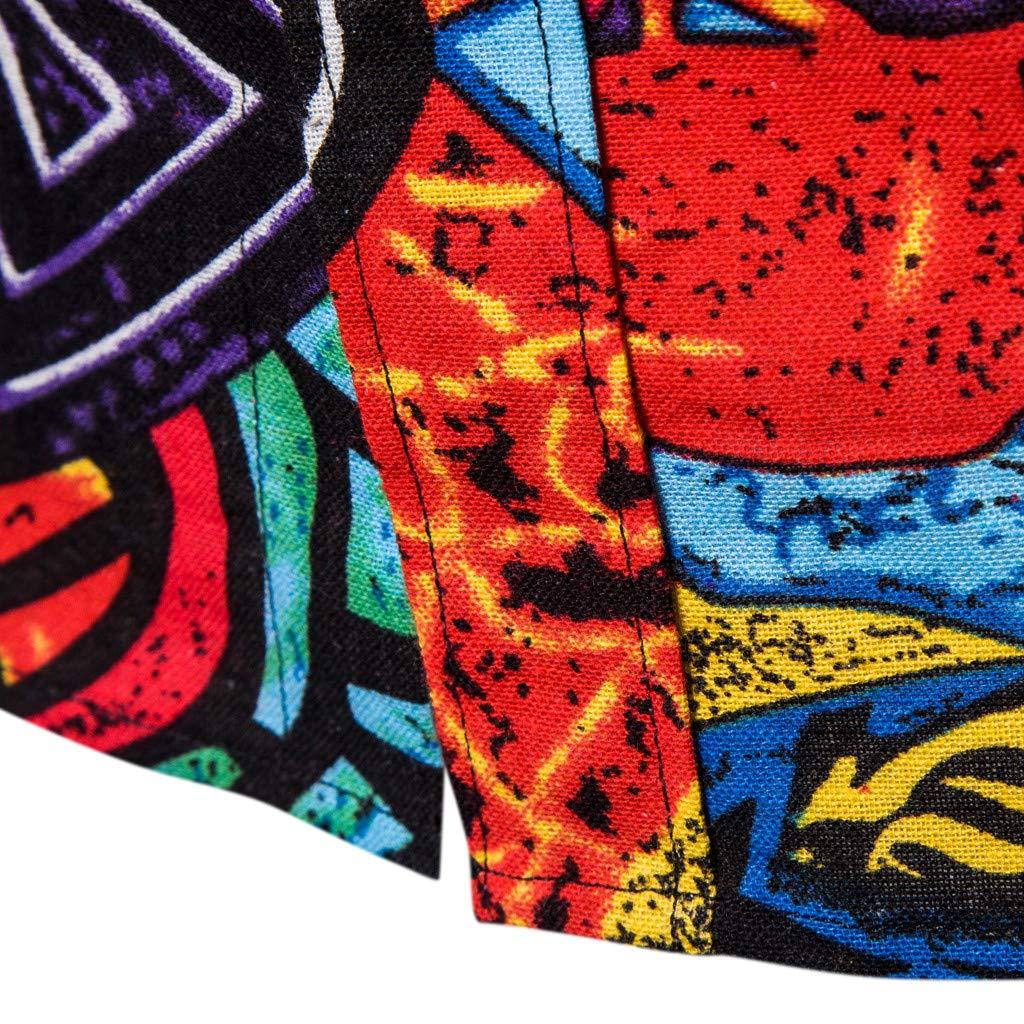 AIMEE7 Crazy Sales Homme Chemises Hawaiennes /à Manche Longues Haute Qualit/é D/écontract/é Chemises /Él/égant Chemises Business Affaires /à Manches Longues Slim Fit Imprim/é Top Casual Hauts