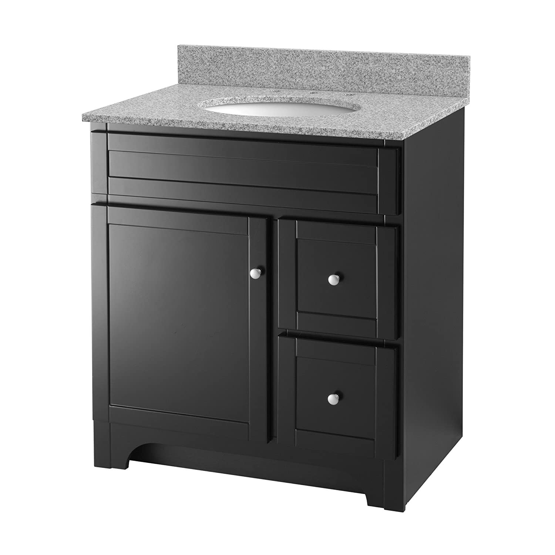 Foremost WROA3021D Worthington 30 Inch Oak Bathroom Vanity     Amazon.com Great Ideas