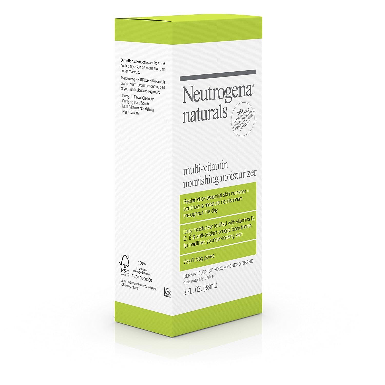 amazon com neutrogena naturals multi vitamin nourishing face