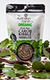 Organic Carob, Australian, Raw, Dried Carob Pod, Kibble Nibbles, Superfood, NON-GMO, World's #1 Best Tasting Carob Pod Kibble, Vegan, Organic Carob Pod, Carob, New Generation Sweet Carob, 7.05oz.