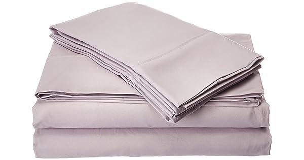 b42d086782 Ideal Linens Bed Sheet Set - 1800 Double Brushed Microfiber Bedding - 4  Piece (King, Lavender)