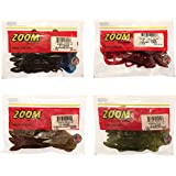 Curly Tail Plastic Worms 8 inch Cherry Seed Chartreuse 30 Count