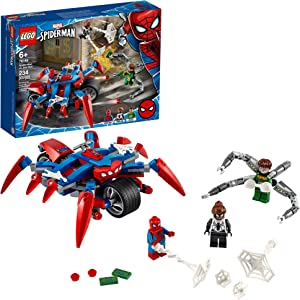 LEGO Marvel Spider-Man: Spider-Man vs. Doc Ock 76148 Superhero Playset with 3 Minifigures, Great Toy Gift for Kids, New 2020 (234 Pieces)