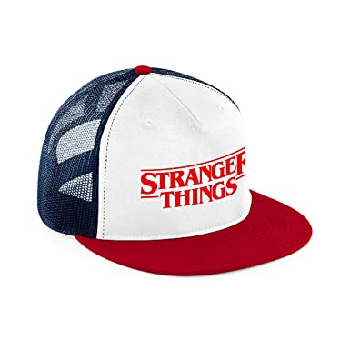 Gorra snapback Dustin Stranger Things con rejilla: Amazon.es: Ropa y accesorios