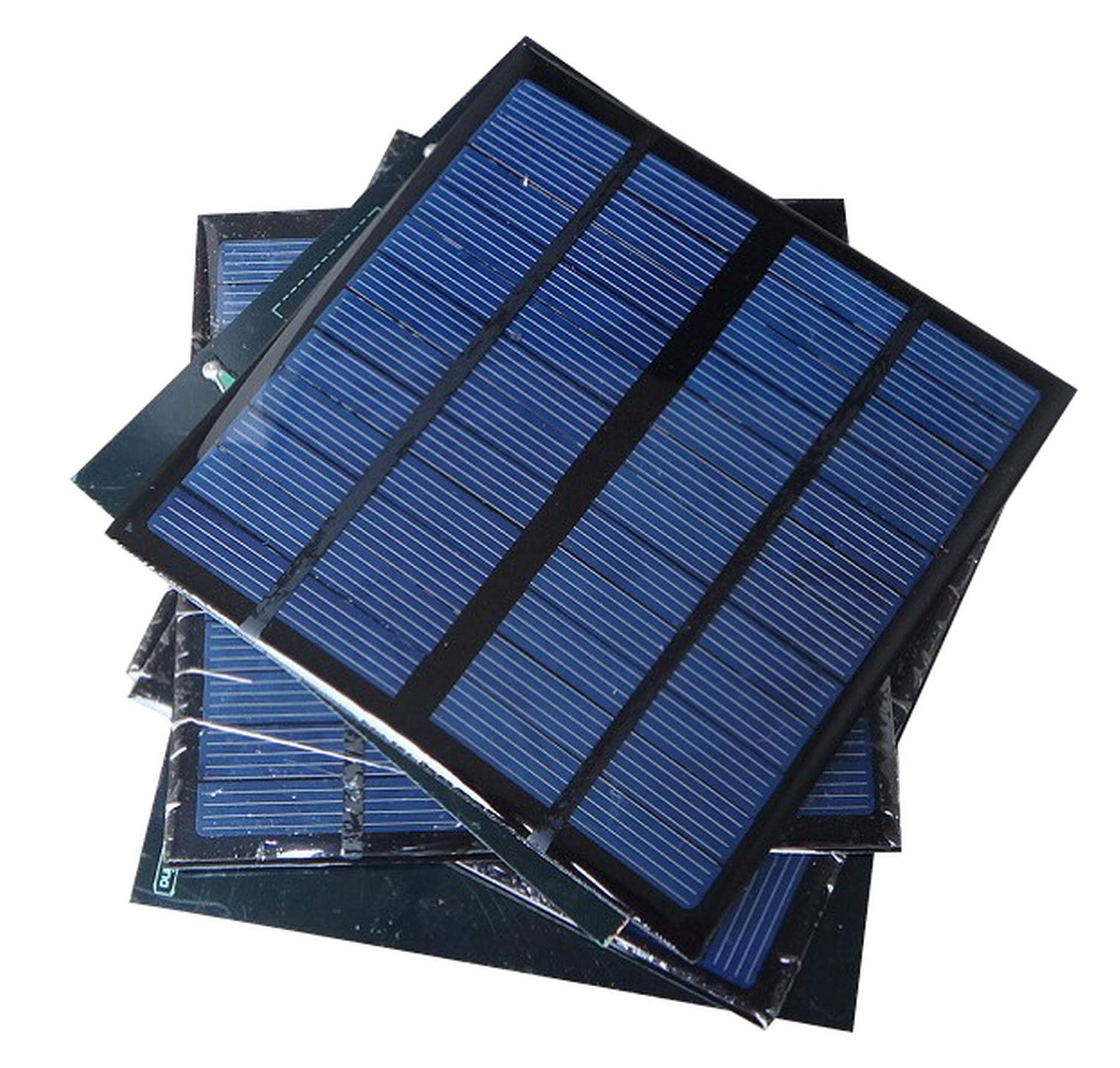 Sunnytech 1pc 3W 12V 250ma Mini Small Solar Panel Module DIY Polysilicon Solar Epoxy Cell Charger B047