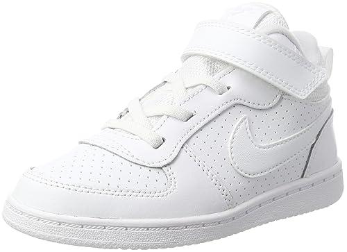 Nike Court Borough Mid (TD), Zapatillas de Gimnasia para Niños ...