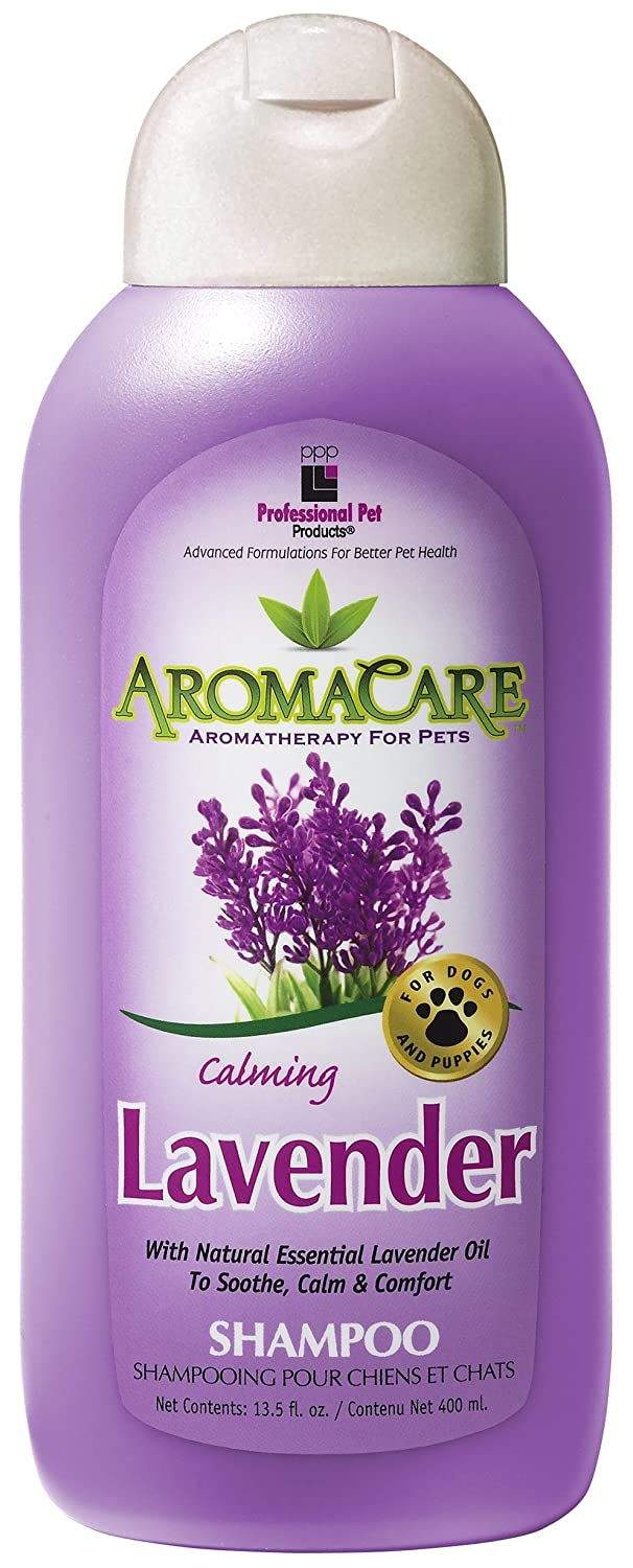 PPP Pet Aroma Care Calming Lavender Shampoo, 13-1/2-Ounce