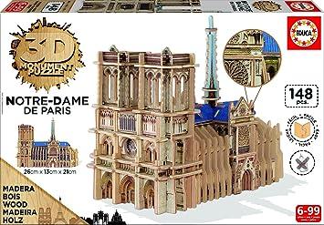 Educa Borrás - Torre Eiffel, Puzzle 3D (16998): Amazon.es: Juguetes y juegos