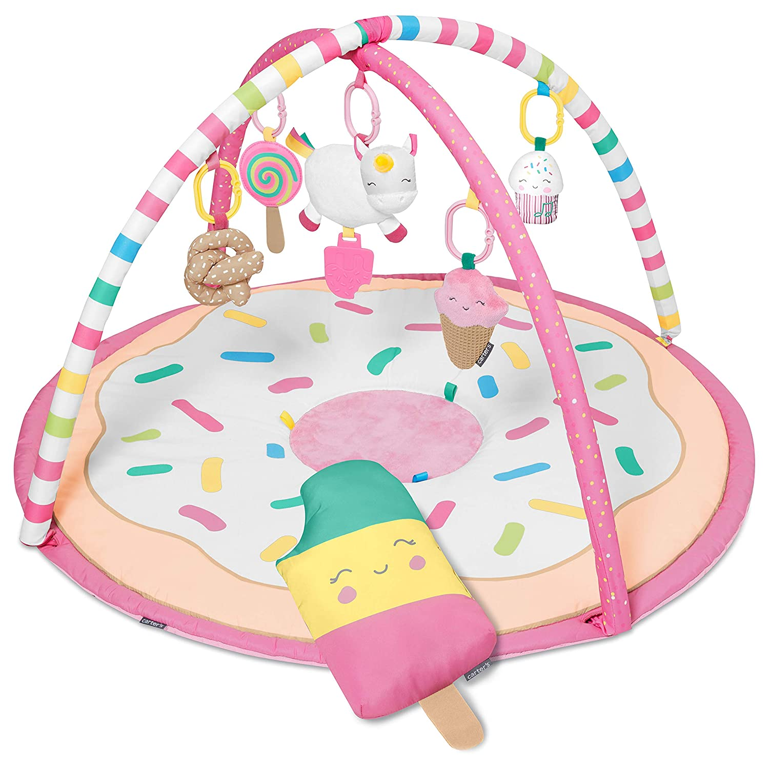 Carter s Sweet Surprise Baby Activity Gym, Pink