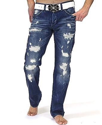 Redbridge Herren Jeans Hose Destroyed Style Regular Fit RB