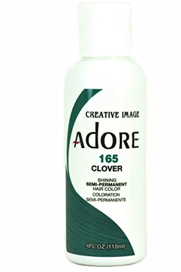 adore semi permanent hair color 165 clover - Clover Color
