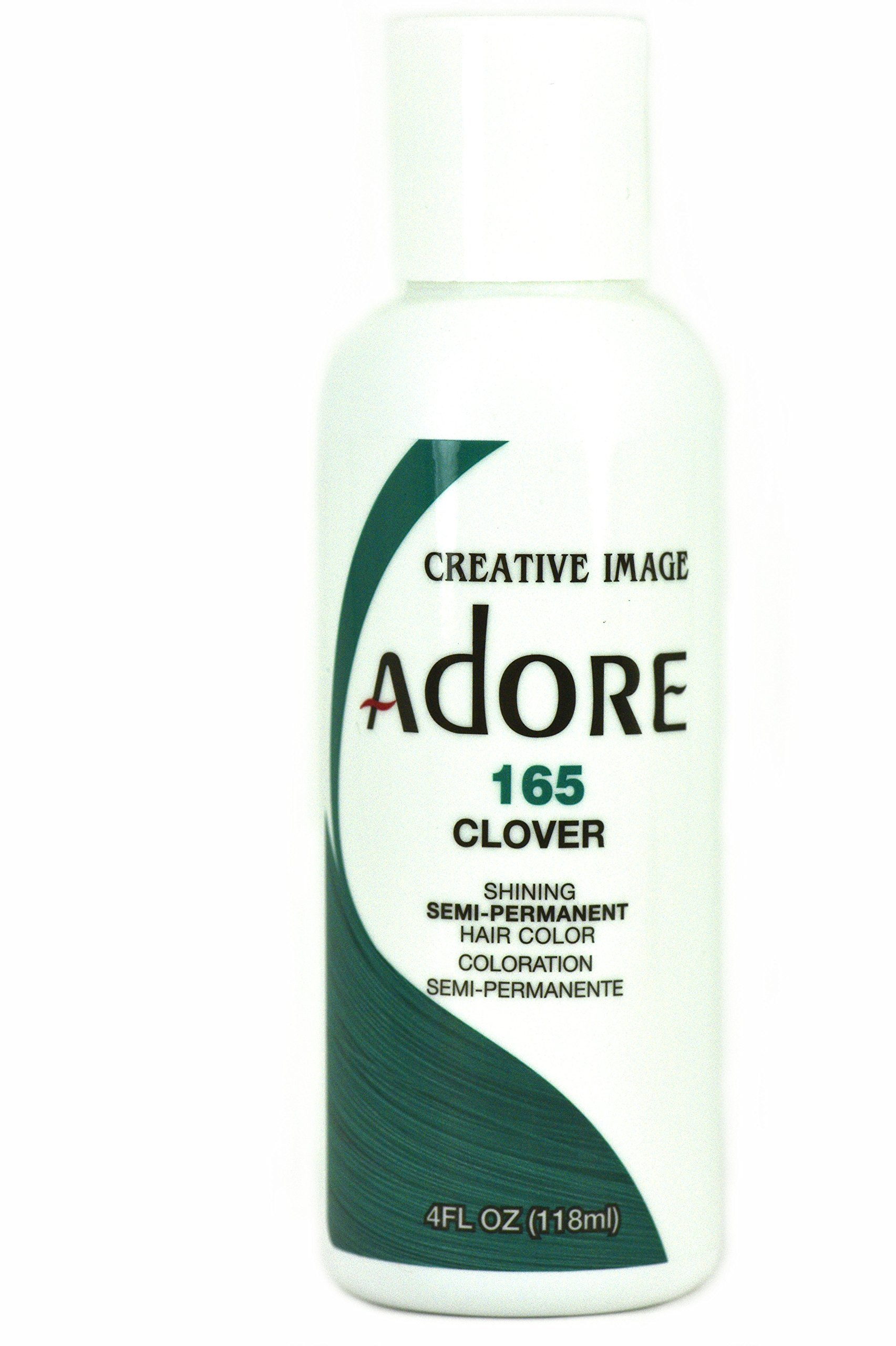 Amazoncom Adore Semi Permanent Hair Color 165 Clover Beauty