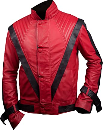 Flesh & Hide F&H Mens Michael Jackson Thriller Jacket: Amazon.es ...