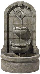 """John Timberland Essex Spigot 41 1/2"""" High Three Tier Floor Fountain"""