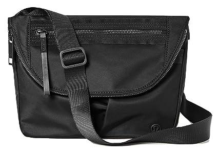 2c953ca869 Lululemon Festival Bag 2 Black Handbag Purse Travel