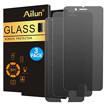 Ailun - Protector de pantalla de privacidad para iPhone 7 Plus y iPhone 8 Plus,