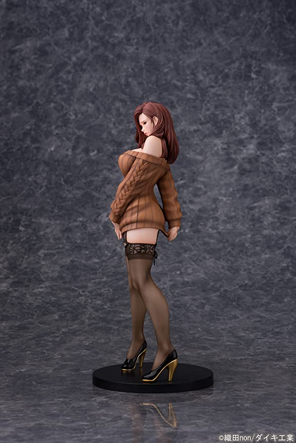 Anime Daiki Kogyo Oda Non Illustration Shiho Kujo Pink Sweater 1//6 Figure No box
