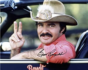 Gatsbe Exchange 8 x 10 Photo Bandit Burt Reynolds